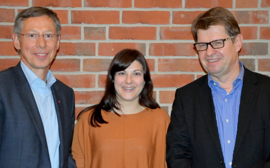 Carsten Sieling, Johanna Uekermann, Ralf Stegner